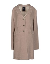 Calvaresi Coats And Jackets Coats Women Beige