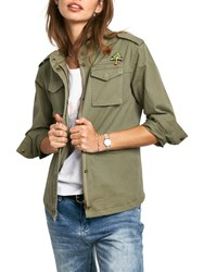 Hush Military Jacket Khaki