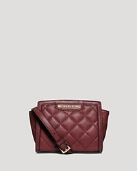Michael Michael Kors Crossbody Selma Quilted Mini Messenger