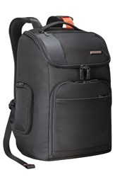 Men's Briggs And Riley 'Verb Advance' Water And Wear Resistant Ballistic Nylon Backpack Black
