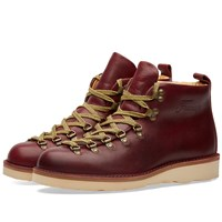 Fracap M120 Natural Vibram Sole Scarponcino Boot Purple
