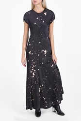 Alexander Wang Women S T Shirt Splatter Gown Boutique1 Grey