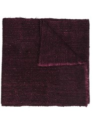 Denis Colomb 'Ise' Scarf Pink Purple