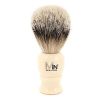Min New York Silvertip Shave Brush Ivory