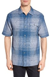 Tommy Bahama Men's Orinoco Ombre Original Fit Short Sleeve Sport Shirt