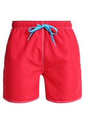 Arena Fundamentals Swimming Shorts Red Turquoise