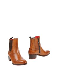 Gianfranco Lattanzi Ankle Boots Brown