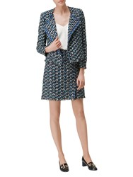 Lk Bennett L.K. Vetti Linton Tweed Skirt Multi