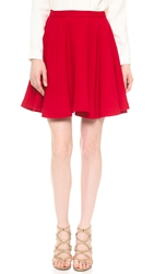 Elle Sasson Ivone Skirt Red