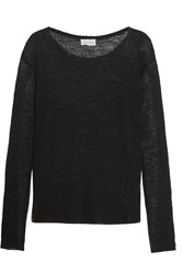 American Vintage Goodwin Open Knit Sweater Black