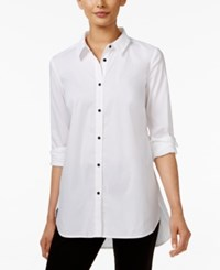 Alfani Long Sleeve Shirt Only At Macy's Bright White