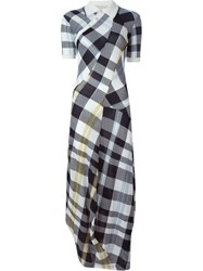 Stella Mccartney 'Solid Checks' Dress Multicolour