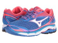 Mizuno Wave Inspire 13 Strong Blue Diva Pink White Women's Running Shoes