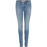 Burberry Low Rise Skinny Jeans Mid Indigo