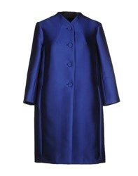Tara Jarmon Coats And Jackets Full Length Jackets Women Blue