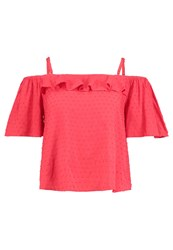 Louche Mozie Blouse Red