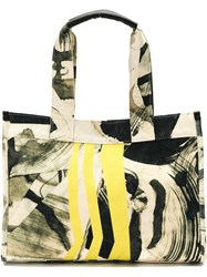 Mara Mac Abstract Print Tote Bag Canvas Unavailable