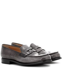 Church's Wesley Patent Leather Shoes Grey