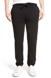 Men's Lacoste 'Sport' Tapered Sweatpants Black