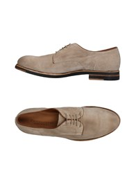 Pantanetti Lace Up Shoes Beige