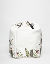 Fiorelli Callie Drawstring Backpack Tropical