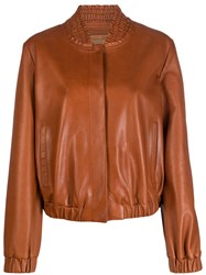Drome Ruched Collar Bomber Jacket 60