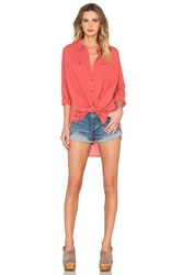 Free People Love Her Madly Top Red