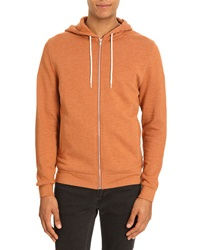 Menlook Label Kobe Orange Marl Hoody