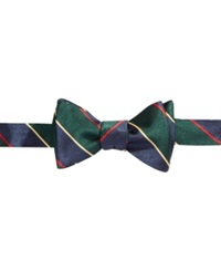 Brooks Brothers A And S Bow Tie Green
