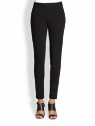 Lafayette 148 New York Punto Milano Trouser Leggings Black