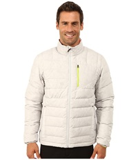 Spyder Dolomite Full Zip Down Jacket Cirrus Theory Green Men's Jacket White