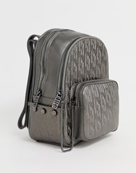 Juicy Couture Mini Back Pack Grey