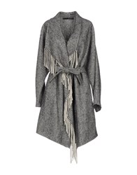 Annarita N. Overcoats Grey
