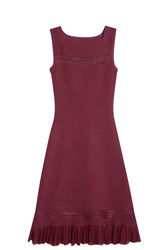 Alaia Sirocco Dress Red