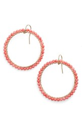 Ki Ele 'Lani' Front Hoop Earrings