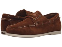 Polo Ralph Lauren Bienne Ii New Snuff Sport Suede Men's Lace Up Casual Shoes Brown