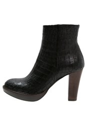 Zinda High Heeled Ankle Boots Nero Black