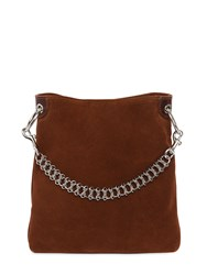 Little Liffner Candy Suede Mini Bucket Bag