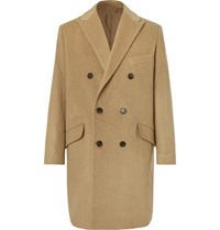 Altea Double Breasted Cashmere Coat Camel