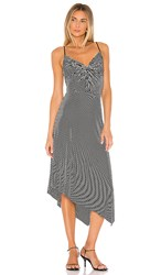 Bailey 44 Paola Dress In Black. Black And Chalk