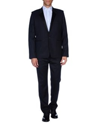 Ann Demeulemeester Suits Dark Blue