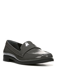 Franco Sarto Valera Faux Patent Leather Loafers Grey