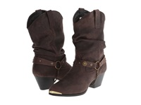 Dingo Olivia Dark Brown Cowboy Boots