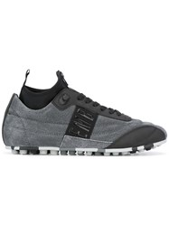 Dirk Bikkembergs Lace Up Sneakers Grey