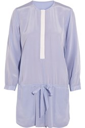 Mason By Michelle Mason Silk Playsuit Lilac
