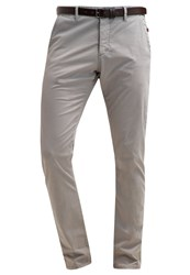 S.Oliver Chinos Snow Grey Light Grey