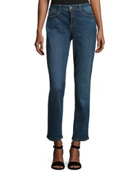 Nydj Sherri Slim Fit Denim Jeans Blue