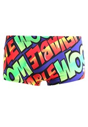 Arena Unbelievable Swimming Shorts Danube Blue Multi Red