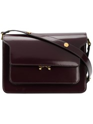 Marni Trunk Shoulder Bag Red
