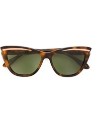 Vivienne Westwood Anglomania Cat Eye Sunglasses Brown